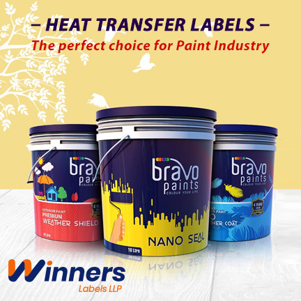 Know Why Heat Transfer Labels are Best for Paint Industry