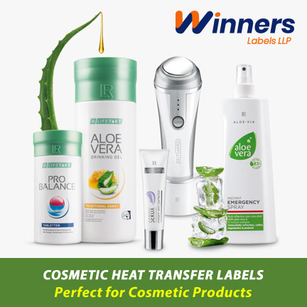 Heat Transfer Labels - The Perfect Labelling Solution for Cosmetic Industries