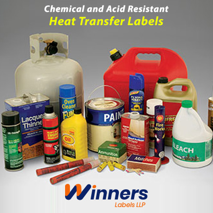 Know More About Chemical and Acid Resistant Heat Transfer Labels