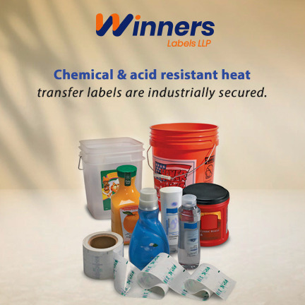 Proven Benefits of Chemical and Acid Resistant Heat Transfer Labels