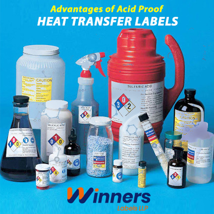 Knowing About Chemical & Acid Heat Transfers Label: A Detail Study