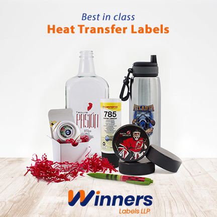 Why Heat Transfer Labels are Highly Sought after by Business Owners
