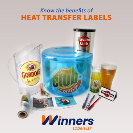 Make your labels long last by using Heat Transfer Labels