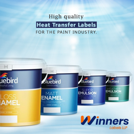 Reasons Supporting Heat Transfer Labels are Best for the Paint Industry
