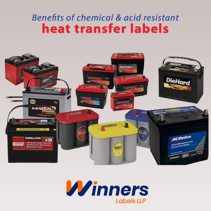 Chemical and Acid Resistant Heat Transfer Label and its Advantages