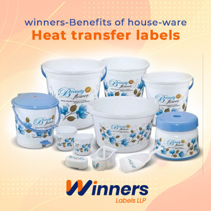 Key Benefits of Using Houseware Heat Transfer Labels